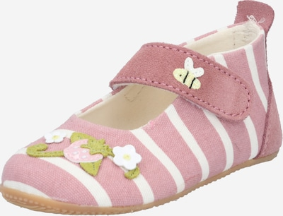 Living Kitzbühel Slipper in pink / white, Item view
