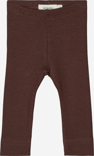 NAME IT Leggings in kastanienbraun, Produktansicht