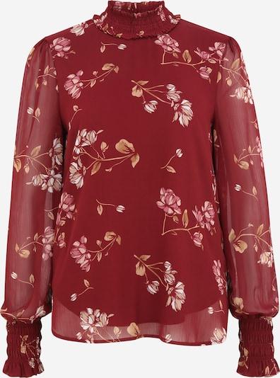 Vero Moda Tall Bluza 'SMILLA'   trst / mešane barve / vinsko rdeča barva, Prikaz izdelka
