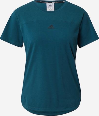 ADIDAS PERFORMANCE T-shirt fonctionnel 'Aeroready' en pétrole, Vue avec produit