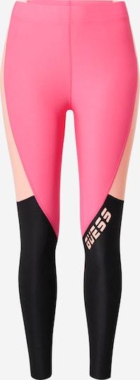 GUESS Sportske hlače u roza / crna, Pregled proizvoda
