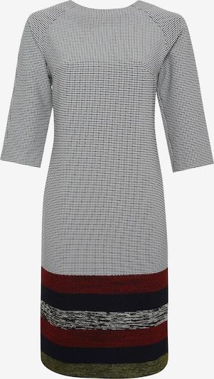 Madam-T Kleid 'IZMIRA' in rot / schwarz / weiß, Produktansicht