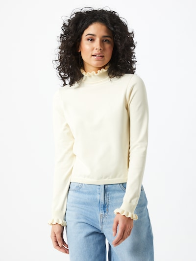 ONLY Pullover 'SALLY' in creme, Modelansicht