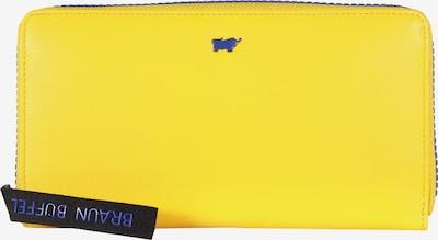 Braun Büffel Lederbörse 'CAPRI L' in gelb, Produktansicht