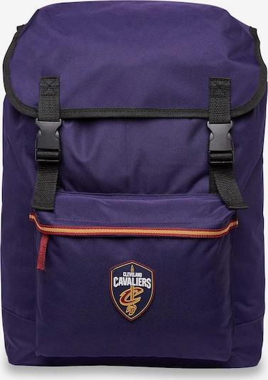 NIKE Sportrugzak 'NBA Premium  Cleveland Cavaliers' in de kleur Donkerlila / Sinaasappel / Bordeaux / Zwart, Productweergave