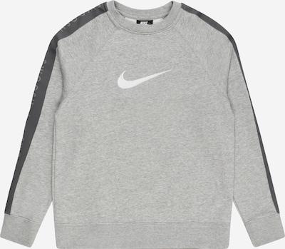 Nike Sportswear Mikina - tmavě šedá / šedý melír / bílá, Produkt