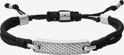 SKAGEN Armband in schwarz / silber, Produktansicht