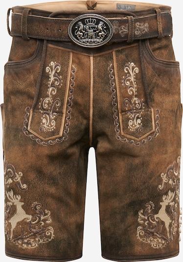 MARJO Shorts 'Alexandro' in braun, Produktansicht