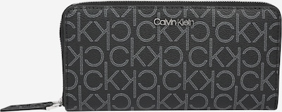 Calvin Klein Wallet 'LG' in grey / black, Item view