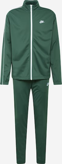 Nike Sportswear Traje para correr en verde oscuro / blanco, Vista del producto