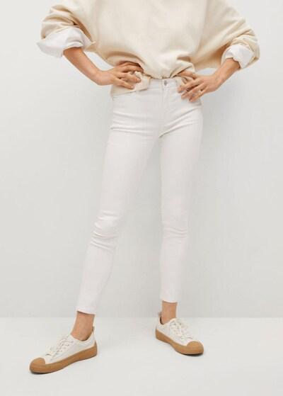 MANGO Jeans 'Isa' in weiß, Modelansicht