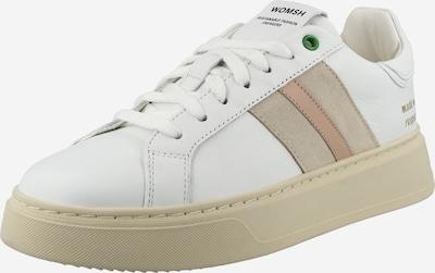 WOMSH Zemie brīvā laika apavi, krāsa - bēšs / balts, Preces skats