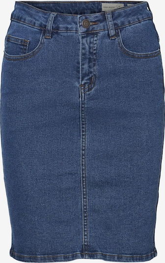 Vero Moda Petite Rock 'Hot Nine' in blue denim, Produktansicht