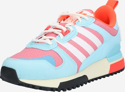 ADIDAS ORIGINALS Sneaker 'ZX 700 HD J' in hellblau / orange / altrosa / weiß, Produktansicht