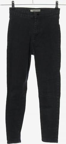 Denim Co. High Waist Jeans in 27-28 in Schwarz
