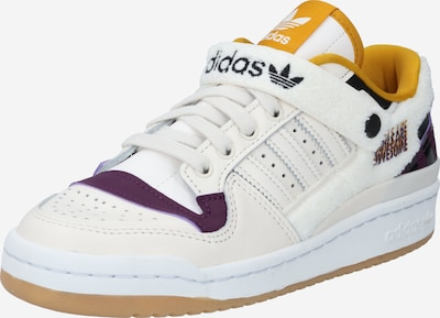 ADIDAS ORIGINALS Baskets basses 'FORUM LOW W GIRLS ARE AWESOME' en blanc, Vue avec produit