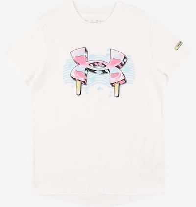 UNDER ARMOUR Sporta krekls 'POPSICLE' debeszils / gaiši dzeltens / gaiši rozā / balts, Preces skats