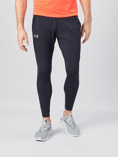 UNDER ARMOUR Sportovní kalhoty 'Fly Fast' - černá: Pohled zepředu
