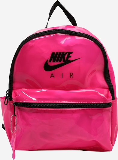 Nike Sportswear Rugzak 'Just Do It' in de kleur Pink / Zwart, Productweergave