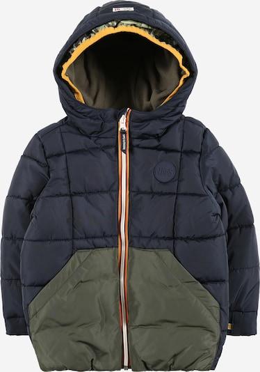 Noppies Winterjacke 'Bundi' in nachtblau / gelb / khaki / mandarine / weiß, Produktansicht