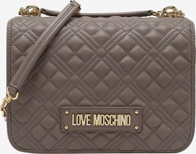 Love Moschino Schultertasche in greige, Produktansicht