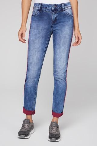 Soccx Jeans in Blauw