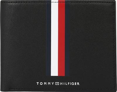 TOMMY HILFIGER Портмоне в нейви синьо / огнено червено / черно / бяло, Преглед на продукта