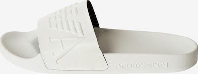 Emporio Armani Mule en blanc, Vue avec produit