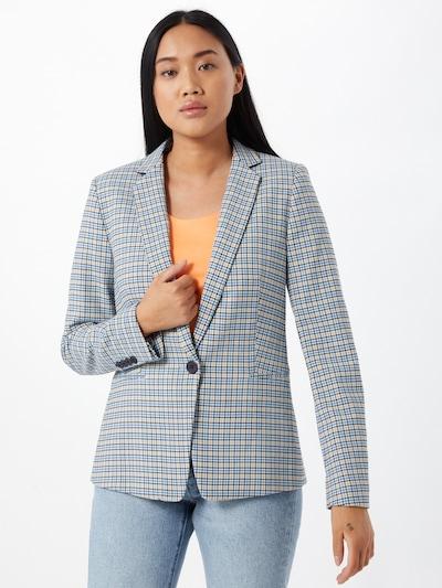 Esprit Collection Blazer in pastellblau / hellgelb / weiß, Modelansicht