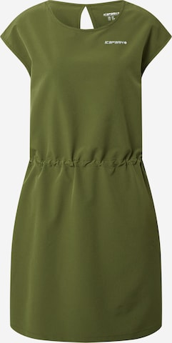 žalia ICEPEAK Sportinė suknelė 'BOTHEL'