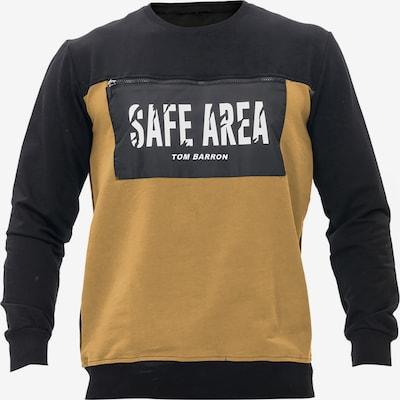 Tom Barron Shirt in gelb / schwarz, Produktansicht
