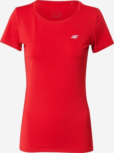 4F T-shirt fonctionnel en rouge, Vue avec produit