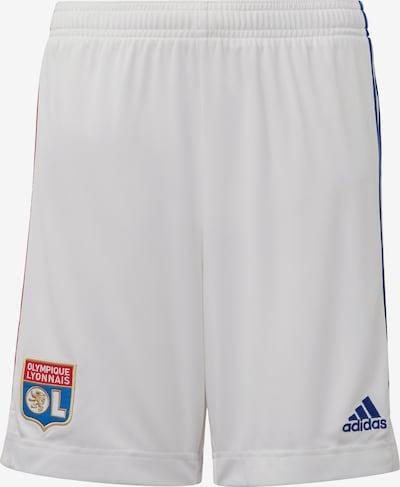 ADIDAS PERFORMANCE Sporthose 'Olympique Lyon Heimshorts' in blau / rot / weiß, Produktansicht
