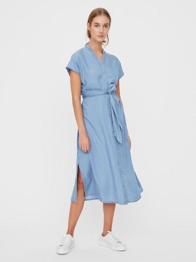 VERO MODA Kleid 'SAGA' in hellblau, Modelansicht
