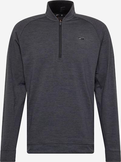 PUMA Sportsweatshirt en noir chiné, Vue avec produit