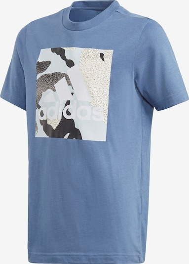 ADIDAS PERFORMANCE T-Shirt in opal / royalblau / schwarz / weiß, Produktansicht
