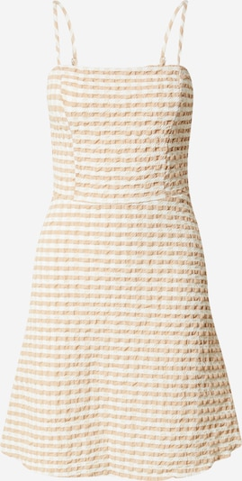 Trendyol Sommerkleid en beige / weiß, Vue avec produit