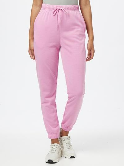 PIECES Püksid 'CHILLI' roosa, Modellivaade