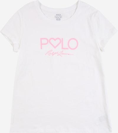 POLO RALPH LAUREN T-Shirt in rosa / weiß, Produktansicht