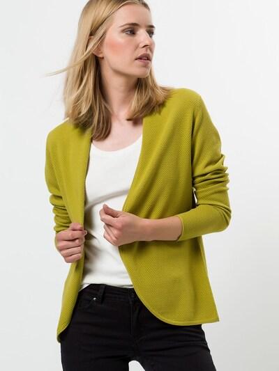 zero Strickjacke in grün, Modelansicht