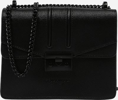 Seidenfelt Manufaktur Tasche in schwarz, Produktansicht