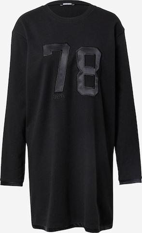 DIESEL Nattskjorte i svart