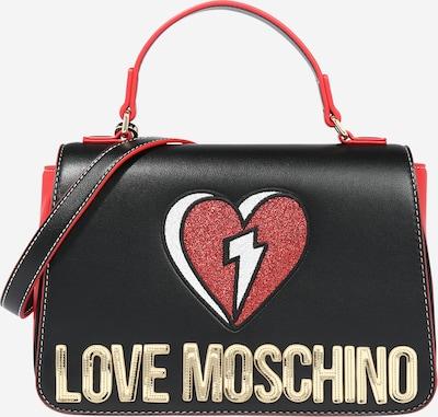 Love Moschino Tasche in orangerot / schwarz, Produktansicht