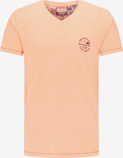 Petrol Industries Shirt in de kleur Perzik, Productweergave