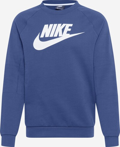 Nike Sportswear Sweatshirt in navy / weiß, Produktansicht