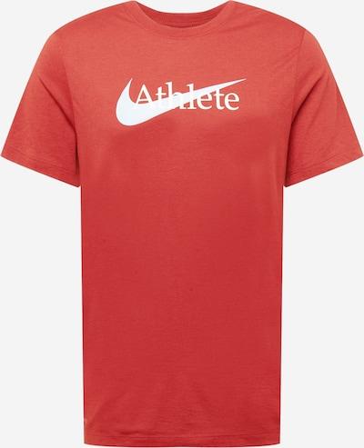 NIKE Toiminnallinen paita värissä punainen / valkoinen, Tuotenäkymä
