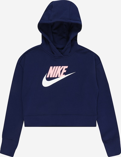 Nike Sportswear Sweatshirt in navy / hellpink / weiß, Produktansicht