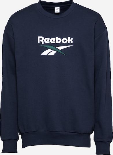REEBOK Bluzka sportowa w kolorze granatowy / białym, Podgląd produktu
