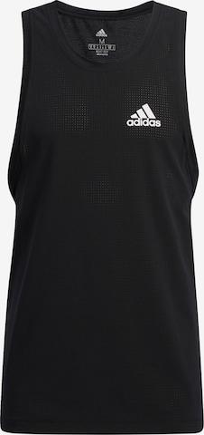 T-Shirt fonctionnel 'Warrior Woven' ADIDAS PERFORMANCE en noir