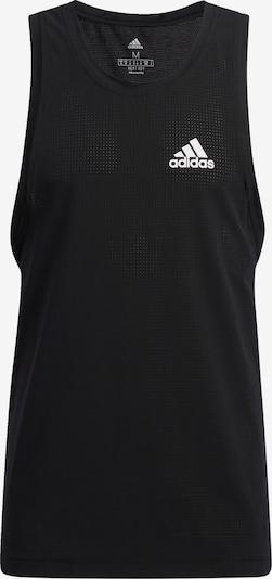 Tricou funcțional 'Warrior Woven' ADIDAS PERFORMANCE pe negru / alb, Vizualizare produs
